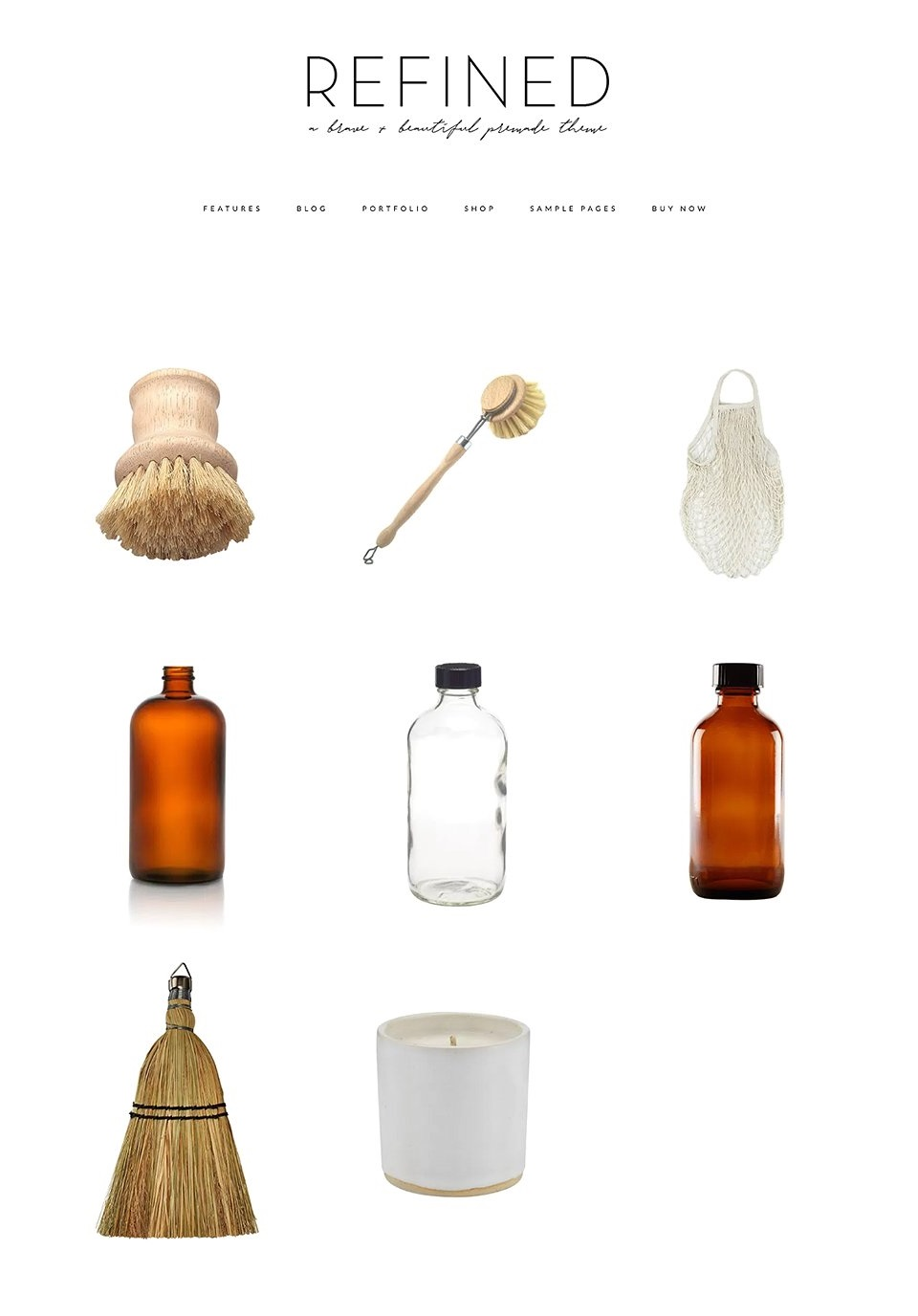 Refined WP Theme